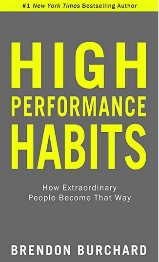 High Performance Habits - Book Cover