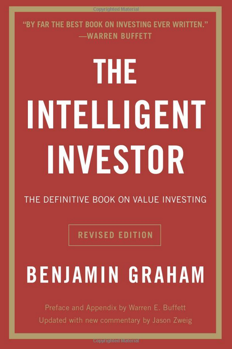 The Intelligent Investor - Book Cover