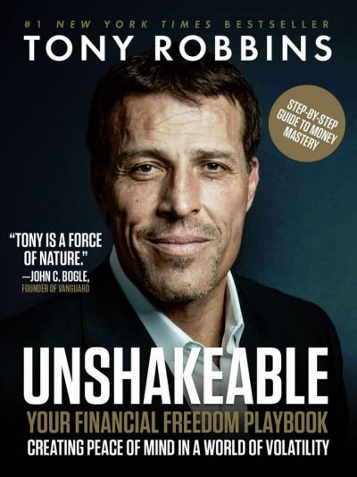 Unshakeable Tony Robbins - Book Cover
