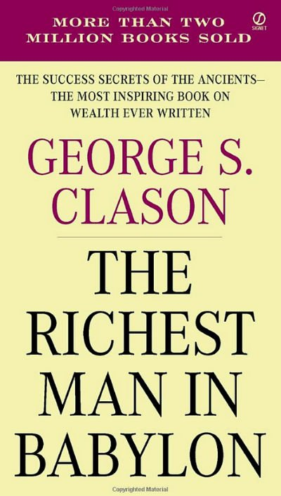 The Richest Man In Babylon - Book Cover